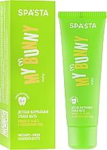 Perfumería y cosmética Pasta dental natural con sabor frutal - Spasta My Bunny