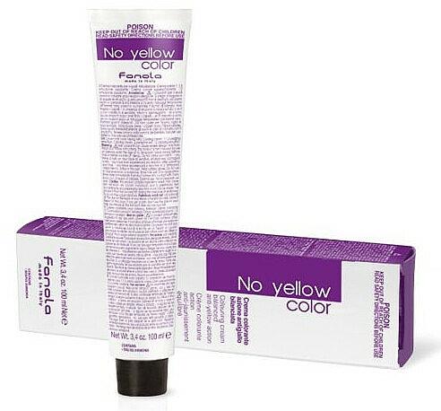 Crema colorante, sin tono amarillo, no incluye oxidante - Fanola No Yellow Color Toner