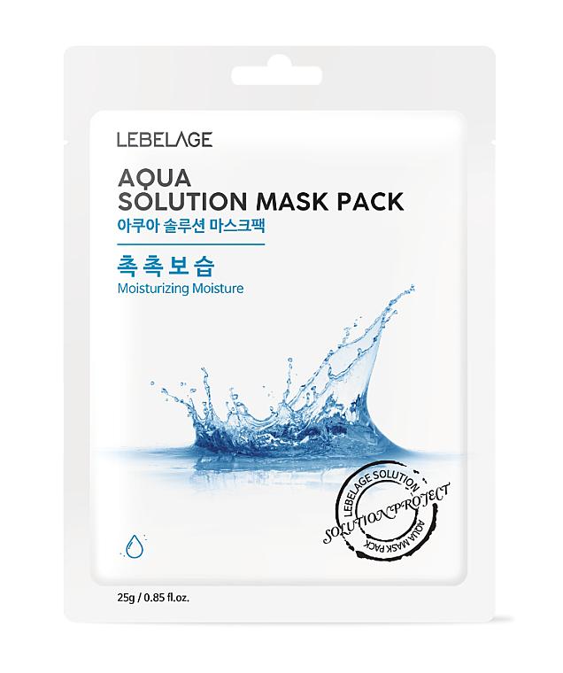 Mascarilla facial con extracto de granada - Lebelage Aqua Solution Mask