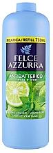 Perfumería y cosmética Recarga jabón de manos líquido antibacteriano con aroma a lima y menta - Felce Azzurra Antibacterial Mint & Lime