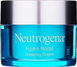 Perfumería y cosmética Crema de noche con ácido hialurónico y trehalosa - Neutrogena Hydro Boost Sleeping Cream