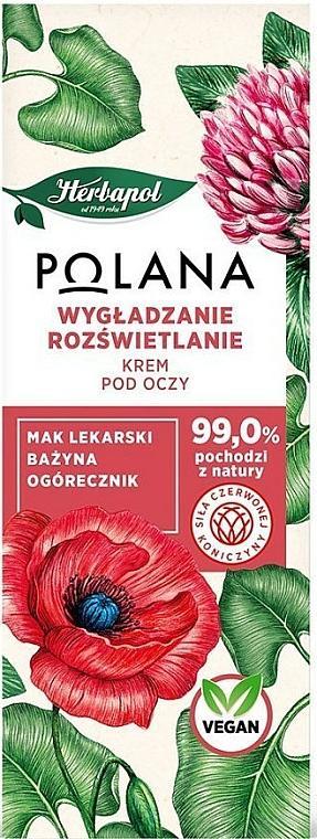 Crema natural para contorno de ojos reafirmante con extractos de borraja y amapola medicinal - Polana