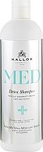 Perfumería y cosmética Champú anticaspa con extracto de melisa - Kallos Cosmetics MED Detox Shampoo