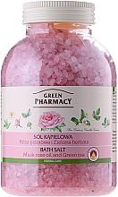 Perfumería y cosmética Sales de baño con aceite de rosa mosqueta y té verde - Green Pharmacy