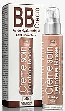 Perfumería y cosmética Crema facial correctora con aceite de avellana & ácido hialurónico 3 en 1 - Naturado En Provence Bio BB Cream