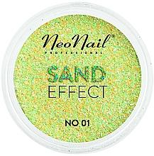 Perfumería y cosmética Glitter para uñas, efecto arena - NeoNail Professional Sand Effect