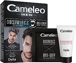 Perfumería y cosmética Tinte para canas de coloración instantánea, pelo oscuro - Delia Cameleo Men Anti Grey Hair Color