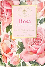 Perfumería y cosmética Jabón artesanal con aroma a rosa - Saponificio Artigianale Fiorentino Masaccio Rose Soap