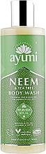 Perfumería y cosmética Gel de ducha con aceite de menta y árbol de té - Ayumi Neem & Tea Tree Body Wash