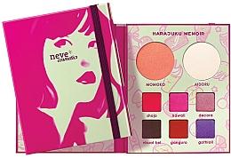 Perfumería y cosmética Paleta cuaderno de maquillaje - Neve Cosmetics Harajuku Memoir Palette