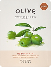 Perfumería y cosmética Mascarilla facial de tejido nutritiva con oliva - It's Skin The Fresh Olive Mask Sheet
