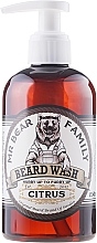 Perfumería y cosmética Champú para barba con aroma cítrico - Mr. Bear Family Beard Wash Citrus