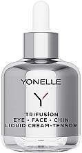 Perfumería y cosmética Crema tensora de ojos, rostro y mentón con extracto de edelweiss - Yonelle Trifusion Eye-Face-Chin Liquid Cream Tensor