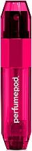 Perfumería y cosmética Atomizador recargable, vacío - Travalo Perfume Pod Ice Hot Pink