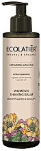 Perfumería y cosmética Bálsamo de depilación con extracto de cactus orgánico - Ecolatier Organic Cactus Women's Shaving Balm