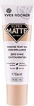 Perfumería y cosmética Base de maquillaje matificante, sin aceite para pieles mixtas y grasas - Yves Rocher Zero Shine 12H Foundation