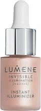 Perfumería y cosmética Iluminador líquido 100% vegano con agua del Ártico & mora azul - Lumene Invisible Illumination