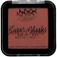 Perfumería y cosmética Colorete acabado mate - NYX Professional Makeup Sweet Cheeks Matte Blush