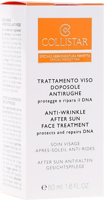 Crema aftersun antiarrrugas con extracto de almendra dulce - Collistar Antiwrinkle After-Sun Face Treatment — imagen N2