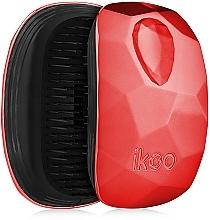 Perfumería y cosmética Cepillo desenredante, rojo - Ikoo Pocket Black Dragon Lady