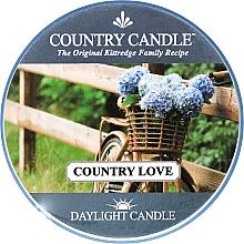 Perfumería y cosmética Vela perfumada con aroma a hierbas & rosa - Country Candle Country Love