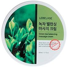 Perfumería y cosmética Crema de masaje facial equilibrante con té verde - Lebelage Green Tea Balancing Massage Cream