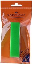 Perfumería y cosmética Bloque pulidor de uñas 120/150, 74813, verde - Top Choice Colours Nail Block