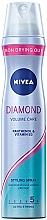 Perfumería y cosmética Laca voluminizadora con pantenol y vitamina B3, fijación muy fuerte - Nivea Diamond Volume Care 5