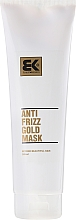 Perfumería y cosmética Mascarilla capilar antiencrespamiento con aceite de argán - Brazil Keratin Anti Frizz Gold Mask