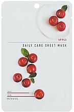 Perfumería y cosmética Mascarilla facial de tejido con extracto de manzana - Eunyu Daily Care Sheet Mask Shea Apple