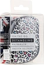 Perfumería y cosmética Cepillo de pelo desenredante - Tangle Teezer Compact Styler Punk Leopard