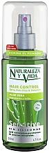 Perfumería y cosmética Spray antiencrespamiento con jugo de aloe vera - Natur Vital Sensitive Hair Control Anti-Frizz & Volume Spray