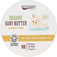 Perfumería y cosmética Bálsamo corporal orgánico para bebé - Wooden Spoon Organic Baby Butter