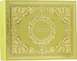 Perfumería y cosmética Versace Yellow Diamond - Set (eau de toilette/50ml + loción corporal/50ml + gel de ducha/50ml)