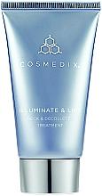 Perfumería y cosmética Tratamiento para cuello y escote con extracto de células madre de edelweiss - Cosmedix Illuminate Lift Neck Decollete Treatment