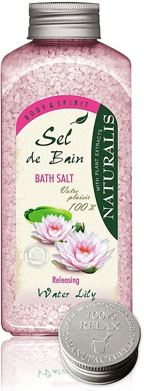 Sales de baño con aroma a nenúfar - Naturalis Sel de Bain Water Lily Bath Salt