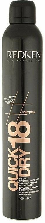 Spray de acabado rápido - Redken Quick Dry 18 Instant Finishing Spray