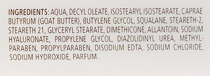 Crema facial hidratante con ácido hialurónico - Le Chaton Argente Moisturizer With Hyaluronic Acid — imagen N3