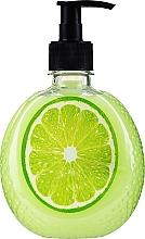 Perfumería y cosmética Jabón de manos líquido con extracto de lima - Secretos Deliciosos