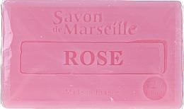 Perfumería y cosmética Jabón artesanal con aceite de almendras, aroma a rosa - Le Chatelard 1802 Soap Rose