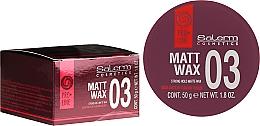 Perfumería y cosmética Cera mate de fijación fuerte - Salerm Matt Wax