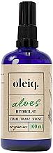 Perfumería y cosmética Hidrolato para cuerpo, rostro y cabello de aloe - Oleiq Hydrolat Aloe