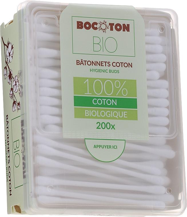 Bastoncillos de algodón, 200 uds. - Bocoton Bio
