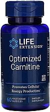 Perfumería y cosmética Complemento alimenticio en cápsulas carnitina optimizada - Life Extension Optimized Carnitine