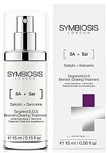 Perfumería y cosmética Tratamiento facial antiimperfecciones S.O.S. con ácido salicílico y sarcosina - Symbiosis London Targeted S.O.S Blemish Clearing Treatment