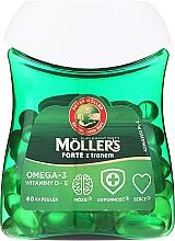 Perfumería y cosmética Complemento alimenticio omega-3 con vitamina D y E en cápsulas - Orkla Moller's Forte Omega-3
