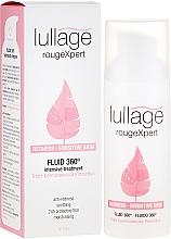 Perfumería y cosmética Fluido facial de tratamiento intensivo antirojeces con extracto de lirio japonés y cola de cabello - Lullage RougeXpert Rojeces-Piel Sensible Fluid 360