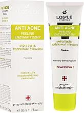 Perfumería y cosmética Exfoliante facial con papaína - Floslek Anti Acne Peeling