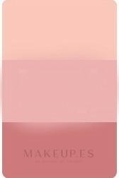 Colorete compacto tricolor - Alcina Brilliant Blush — imagen Triple Rose