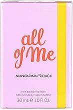 Perfumería y cosmética Mandarina Duck All of Me for Her - Eau de toilette